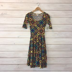LuLaRoe Southwest Print Nicole Dress